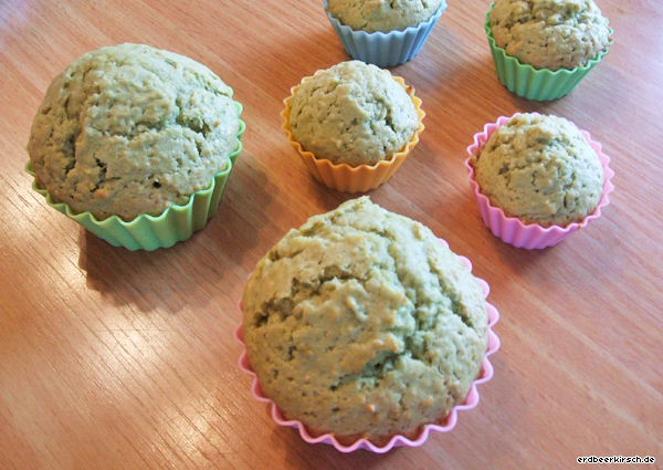 kirschkuchen rezept matcha mandel muffins. Black Bedroom Furniture Sets. Home Design Ideas